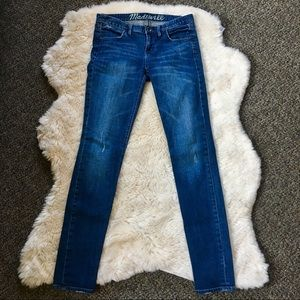 [Madewell] 26x32 Skinny Style Jeans